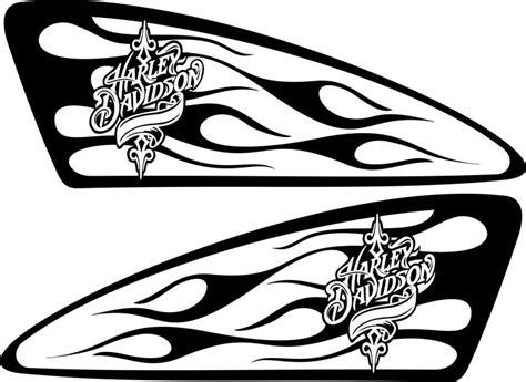 Felgen Lackieren Schablone by Harley Decals Airbrush Gas Tank Stencils Vinyl Harley