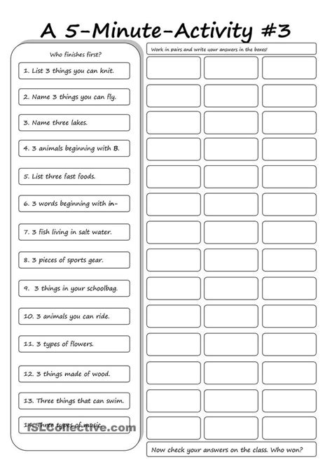 Aphasia Worksheets