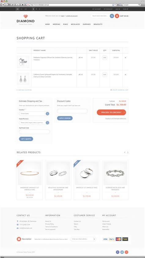 magento shopping cart template responsive magento theme by wpway themeforest
