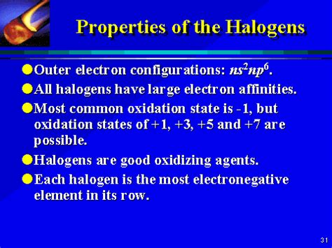 What Are Halogen Halogens Science