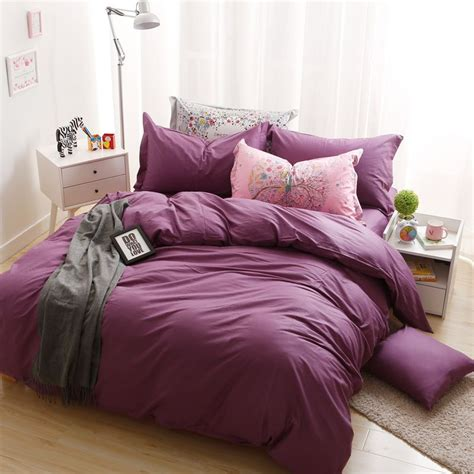 byf hs meizi brief solid color bedding set ebeddingsets