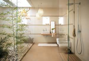Modern Japanese Home Decor by Zen Bathroom Garden Interior Design Ideas