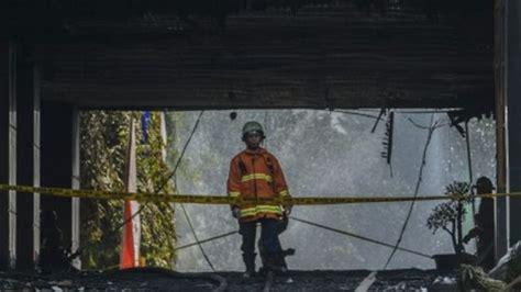 gedung kejaksaan agung terbakar pakar fire safety sebut