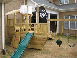 Pirate Ship Backyard Playset Free Pirate Ship Playset Plans Woodworking Projects Amp Plans