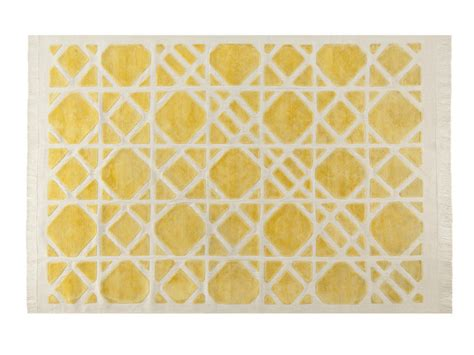 Roche Bobois Rugs by Patterned Rectangular Rug Cannage By Roche Bobois Design