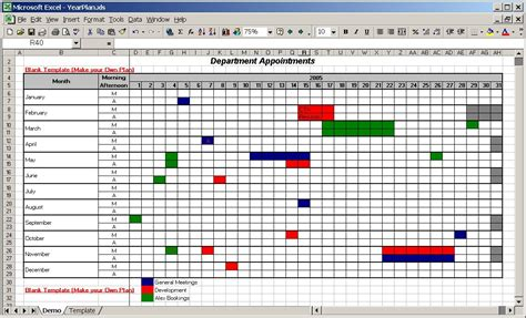 Officehelp Template 00028 Calendar Plan Year Planner Template Schedule Planner Template