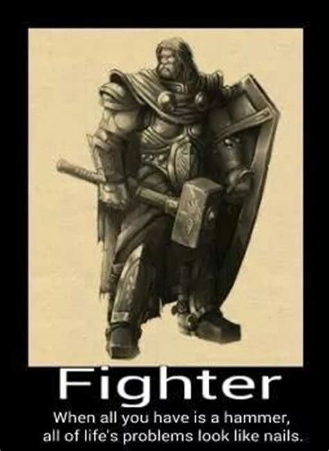 Fighter Meme - fighter dnd memes pinterest chang e 3 plays and