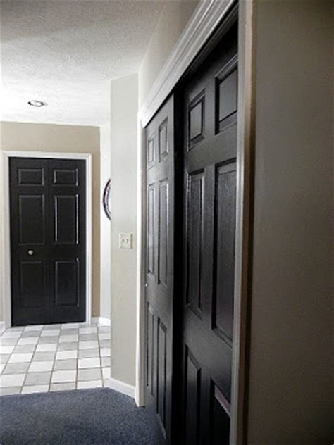 Black Interior Door by Five Black Interior Doors