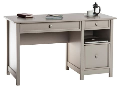 grey office desk teknik office computer desk cobblestone grey