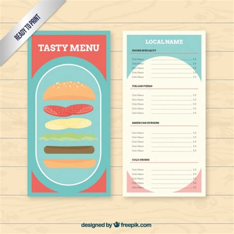 burger menu template burger menu template vector premium