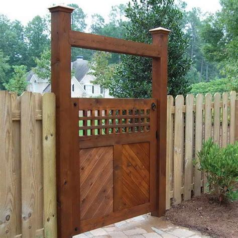 garden fences and gates ideas 3 homescorner com