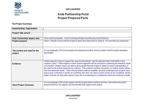 43 Professional Project Proposal Templates Template Lab Project Management Rfp Template