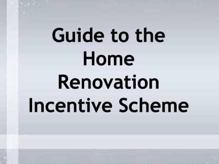 declan noonan associates 187 home renovation incentive scheme