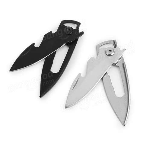 Sale Edc Keychain Folding Knife Self Defense Tool Pisau Keselamatan 1 multifunction stainless steel keychain knife opener self defense edc tool sale banggood