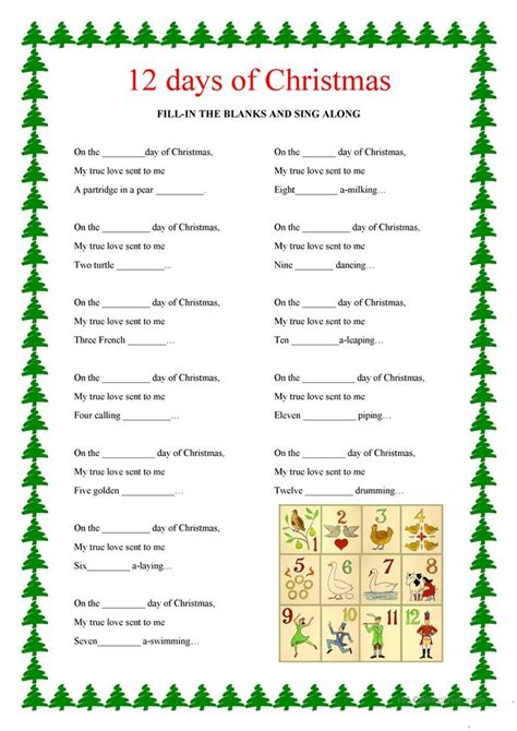 printable christmas english worksheets number names worksheets 187 esl ordinal numbers worksheet