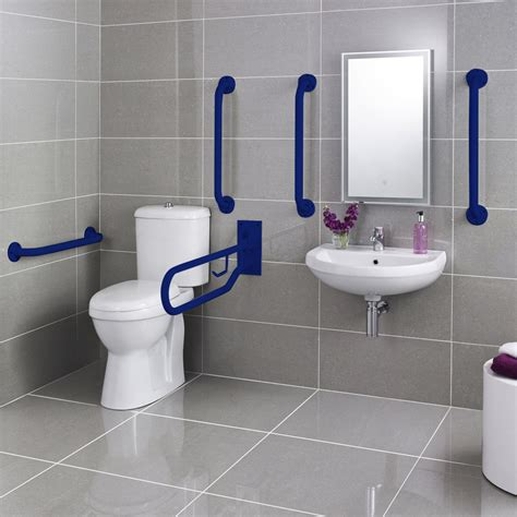 bathroom rails premier doc m pack disabled bathroom toilet basin and