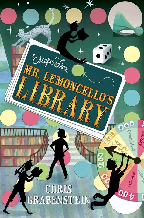 Mainan Edukasi Friends Right On Time Board Book With An I book review review escape from mr lemoncello s library