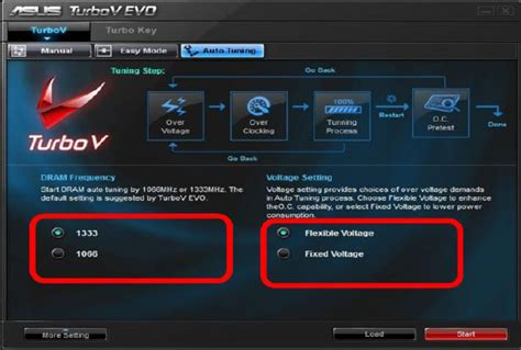 Asus P7p55d E Auto Tuning asus p7p55d deluxe motherboard review turbov software