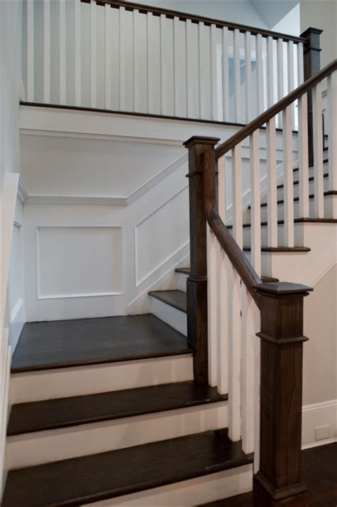 traditional staircases tenafly custom home traditional staircase new york