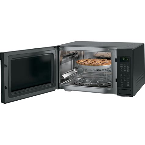 Ge Convection Microwave Countertop by Peb9159djbb Ge Profile 1 5 Cu Ft Convection Microwave