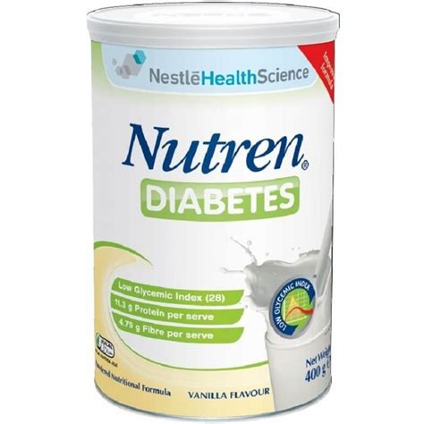 Safe Cabinet Nestle Nutren Milk Powder For Diabetic 400g Vanilla