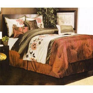 burnt orange bedding burnt orange bed comforter from sears com