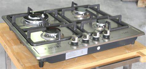 Propane Countertop Stove by Propane Gas Stove Built In Counter Top 4 Burner Cooktop