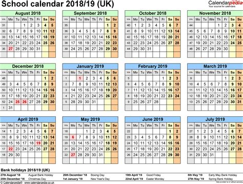 printable calendar 2018 with bank holidays january 2019 calendar with holidays uk printable weekly