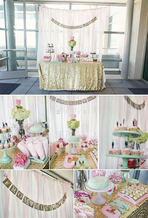 bridal shower round table decoration ideas 25 best ideas about glitter table cloths on pinterest