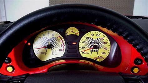 car maintenance manuals 1999 mitsubishi 3000gt instrument cluster black cat custom automotive dodge stealth mitsubishi 3000gt gauge faces in kmh