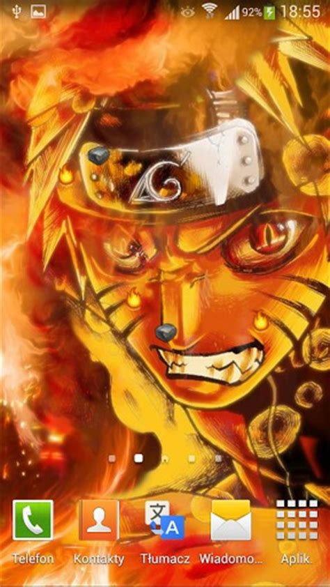 themes naruto live naruto gaara live wallpaper app for android
