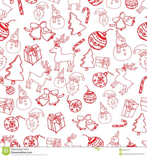 christmas paper pattern vector red seamless christmas pattern vector stock vector image