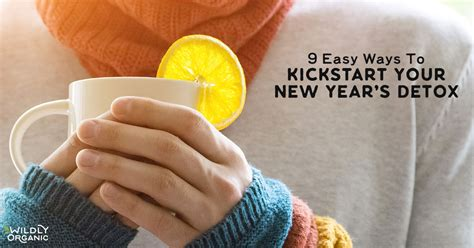 Easy Ways To Detox From by 9 Easy Ways To Kickstart Your New Year S Detox Wildly
