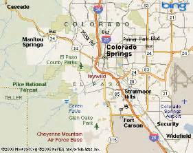 colorado springs area map ivywild colorado springs nbhd colorado