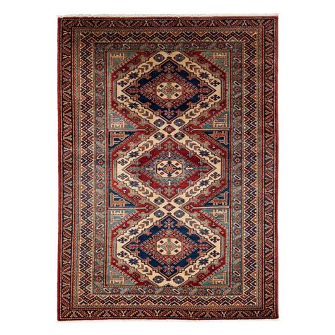 4 X 5 Kitchen Rug Darya Rugs Shirvan 4 Ft 4 In X 5 Ft 9 In Indoor Area Rug M1780 168 The Home Depot