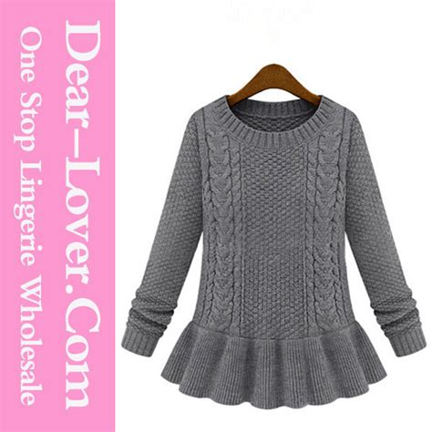 china knitted sweater handmade knit wool sweater