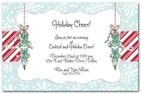 work christmas party invite work invitation