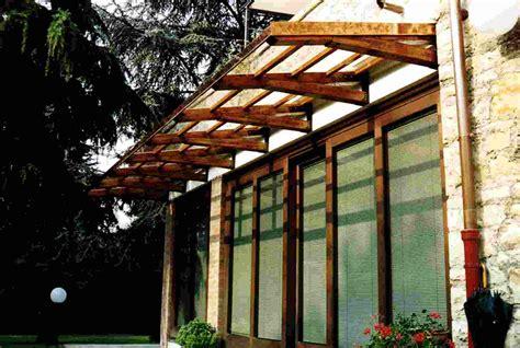 tettoie in vetro e legno pensiline in legno per porte e scale tendasol