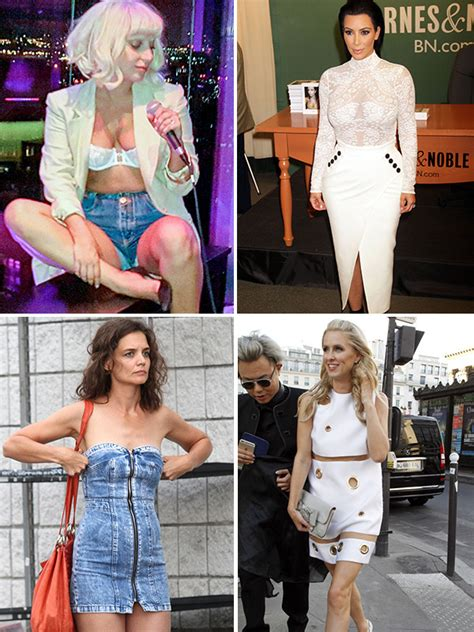hollywoods worst wardrobe malfunctions etonlinecom pics summer wardrobe malfunctions of 2015 kim