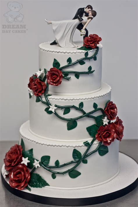 Wedding Cakes Roses by Sugar Roses Wedding Cake Gainesville Day