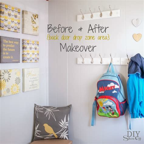 Lowe S Home Decorating by Drop Zone Makeover Back To Organization Before