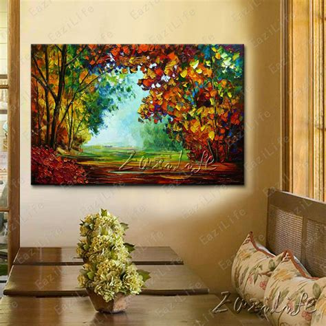 hand painted canvas oil paintings wall pictures for living