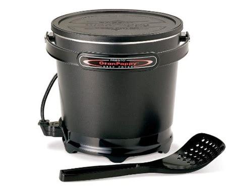 presto deep fryer electric countertop nonstick mini presto 05411 granpappy electric deep fryer