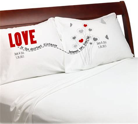 images of love pillow long distrance relationship pillow cases love is the shortest
