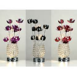 Flower Table L Silver Acrylic Aluminium Flower Table L Light Purple Black Ebay