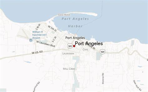 port angeles map guide urbain de port angeles