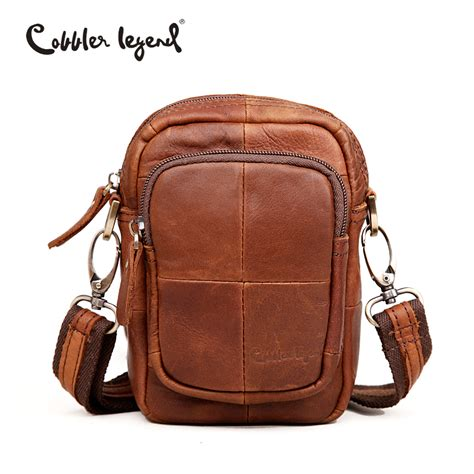 Handmade Leather Messenger Bags For - aliexpress buy cobbler legend small handmade cow