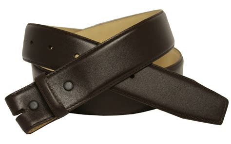 brown smooth leather belt 1 1 2 quot wide