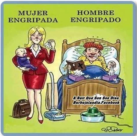 imagenes hot de humor humor grafico hombre y mujer con gripe chistes graficos