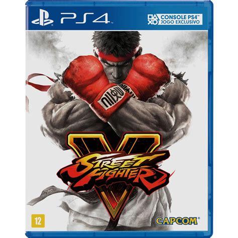 Ps4 Fighter V We53 jogo fighter v ps4 jogos playstation 4 no pontofrio
